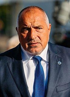 Boyko Borisov Prime Minister of Bulgaria (2017-present)