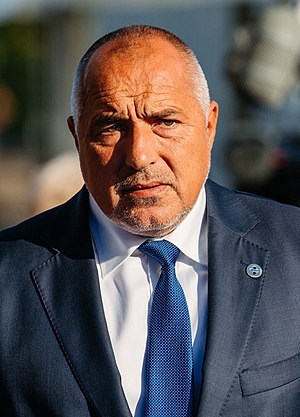 Prime Minister of Bulgaria - Image: Tallinn Digital Summit Arrivals Boyko Borisov Cropped