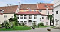 Tallinn St Peter and St Paul's Cathedral forecourt houses 01.jpg