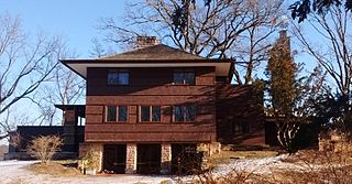 house designed by Frank Lloyd Wright