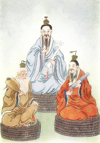 Three Pure Ones - Image: Taoist Triad