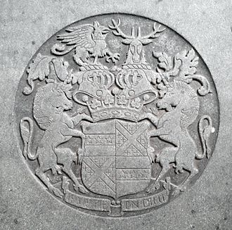 Earl of Plymouth - Arms of Robert George Windsor-Clive, 1st Earl of Plymouth (1857–1923)