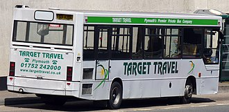 Plaxton Pointer - Image: Target Travel SUI8206 (5869498409) (cropped)