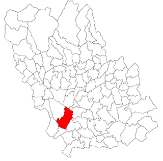 Târgșoru Vechi Commune in Prahova County, Romania