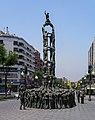 Tarragona, Skulptur -Castellers- -- 2006 -- 3.jpg
