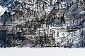Tarvisio Lago del Predil mit Serpentinen der Passstrasse 18032016 2901.jpg