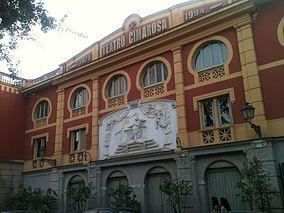 Teatro dedicato a Domenico Cimarosa ad Aversa
