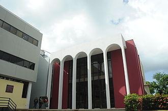 Universidad del Sagrado Corazón - Image: Teatro Emilio S. Belaval