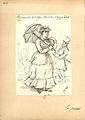 Teckning, Fritz von Dardel, 1884. Promenad drägten kläder Anna bäst - Nordiska Museet - NMA.0035994.jpg