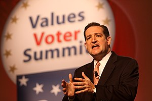Ted Cruz - Cruz speaking to the Values Voters Summit in October 2011