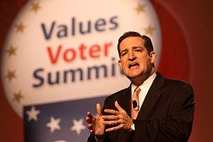 Ted Cruz - Cruz speaking to the Values Voters Summit in October 2011