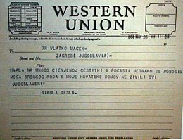 Telegram Telegrafie Wikipedia