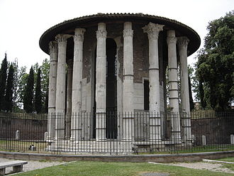 Forum Boarium - The Temple of Hercules Victor today.