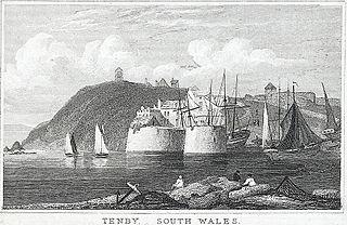 Tenby, south Wales