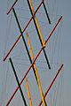Tensegrity Structure Detail - Science Park - Science City - Kolkata 2010-02-18 4568.JPG