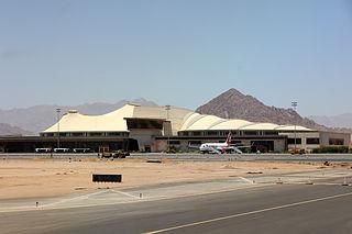 Sharm El Sheikh International Airport international airport serving Sharm el-Sheikh, Egypt
