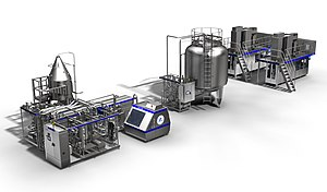 Ultra-high-temperature processing - A Tetra Pak ultra-pasteurization line.