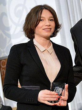 The 2016 International Women of Courage Award to Zhanna Nemtsova of Russia (25514175553).jpg