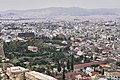 The Ancient Agora of Athens and Kerameikos Cemetery from the Acropolis on February 6, 2020.jpg