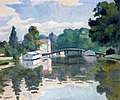 The Bridge a Samoas Albert Marquet (1917).jpg