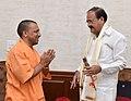The Chief Minister of Uttar Pradesh, Yogi Adityanath calling on the Vice President, Shri M. Venkaiah Naidu, in New Delhi on August 22, 2017.jpg