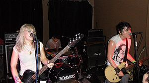 The Dollyrots - (L–R) Kelly Ogden, James Carman, Luis Cabezas