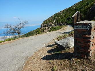 Monte Dinnammare - the Dorsale dei Peloritani start