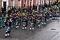 The FDNY EMS Pipes and Drums Band Took Part In The New York Parade On Sunday And Then Jetted To Dublin To March In Dublin On Sunday (8566211136).jpg