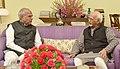 The Governor of Assam, Shri Banwarilal Purohit calling on the Vice President, Shri M. Hamid Ansari, in New Delhi on July 13, 2017 (1).jpg