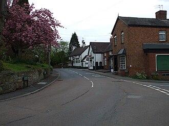 Hampton-in-Arden - Image: The High Street Hampton in Arden