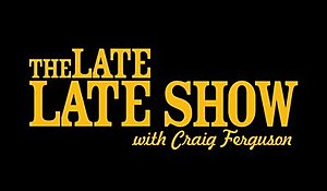 The Late Late Show (U.S. TV series) - The Late Late Show with Craig Ferguson logo