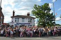 The Leathern Bottle, Meadrow on the Olympic Torch Relay Celebrations, 2012.jpg