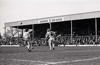 Belle Vue (Doncaster) Home of English professional football club Doncaster Rovers from 1922 to 2007