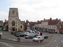 The Market Square, Malton