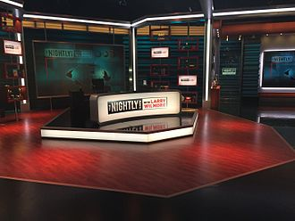 The Nightly Show with Larry Wilmore - The set of The Nightly Show