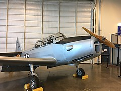 The PT-19 on display at the Aerospace Museum of California.jpg