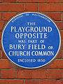 The Playground opposite was part of Bury Field or Church Common enclosed 1850.jpg