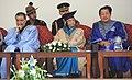 The President, Smt. Pratibha Devisingh Patil at the sixth convocation of Mizoram University, at Tanhril, in Mizoram on September 24, 2010.jpg