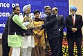 The Prime Minister, Dr. Manmohan Singh presented JNNURM Awards for best cities and Mass Transit Projects, in New Delhi on December 03, 2009 (1).jpg