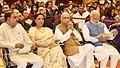 The Prime Minister, Shri Narendra Modi and other dignitaries at a Civil Investiture Ceremony, at Rashtrapati Bhavan, in New Delhi on March 30, 2017.jpg