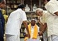 The Prime Minister, Shri Narendra Modi meeting DMK patriarch M. Karunanidhi, in Chennai on November 06, 2017 1.jpg