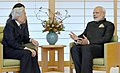 The Prime Minister, Shri Narendra Modi meeting the His Highness Emperor Akihito of Japan, in Tokyo on November 11, 2016.jpg