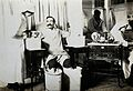 The Royal Hospital, Haslar, England; a wounded patient Wellcome V0030756.jpg