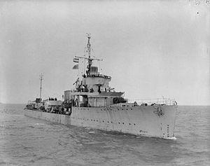 HMS Vanquisher (D54) - HMS Vanquisher (D54)