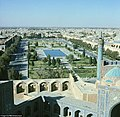 The Royal Square Meydan-i-Shah with the Royal Mosque in Ishafan in the 1970s.jpg