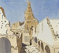 The Ruins of the Great Mosque, Gaza, Palestine, 1919 Art.IWMART4564.jpg