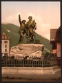 The Saussure monument of Chamonix, Chamonix Valley, France-LCCN2001697625.tif