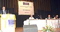 The Secretary, Department of Biotechnology, Dr. M.K. Bhan addressing at the foundation day ceremony of the National Institute of Biomedical Genomics, at Kolkata. The Director, National Institute of Biomedical Genomics.jpg