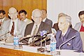 The Union Home Secretary Shri N. Gopalaswami speaking at the launching of the USAID assisted Disaster Management Support Project in New Delhi on January 19, 2004.jpg