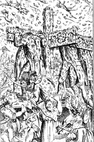 Vere Street Coterie - The Vere Street Gang at the pillory in 1810